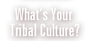 What's Your Tribal Culture?
